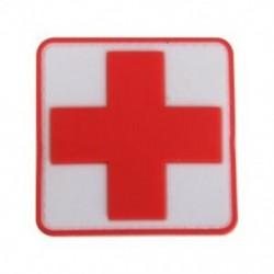 1X (kültéri elsősegélyű PVC piros kereszt horog jelvény javítás G3N5)