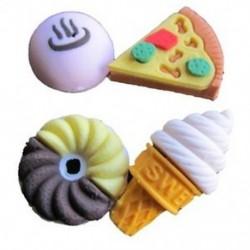 lty aranyos ceruza gumi radír radír levélpapír fagylalt torta gyerek szórakoztató játék E8Y5