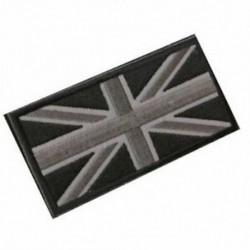 FASHION Union Jack UK zászló jelvény javítópálca vissza 10cm x 5cm ÚJ, (fekete / Gr O5D9