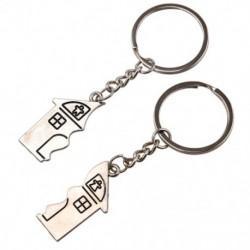 2X (2 db ház alakú mágneses kulcstartó kulcstartó szerelmeseinek B7X2)
