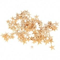 Kicsi tengeri csillag tengeri kagyló tengerparti kézműves 0,4 hüvelyk-1,2 hüvelykes 90 db N1E6