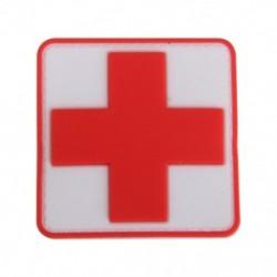 4X (B6P2 kültéri elsősegélyű PVC piros kereszt horogjelző javítás)