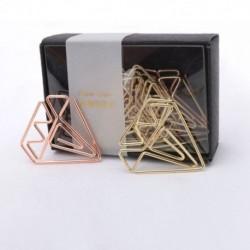 1X (Új érkezési könyvjelző gyémántcsipesz rózsa arany klip aranykapocsok O8P8 levélpapír