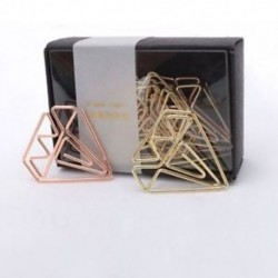 Új érkezési könyvjelző gyémánt klip rózsa arany klip arany kapcsok levélpapír kell G4Q3