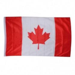 Kanadai zászló - Nagy 90x150cm méretű 5 X 3FT zászlók zászló dekoráció TG