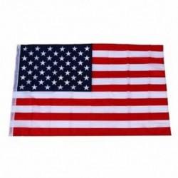 1X (Amerikai Egyesült Államok zászlaja - 150 X 90 cm (100% kép-kompatibilis) S6T1)