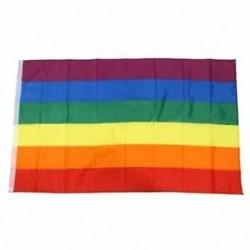 1X (zászló, 5 láb x 3 láb, Rainbow E9T5)