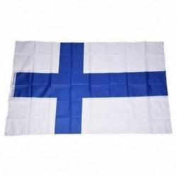 Országos zászló 5 láb x 3 láb - Finnország N2O1