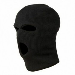 3 lyukú rendőrségi maszk / motorháztető szín fekete rendőrség - Swat - Gign - Raid - Specia N4I8