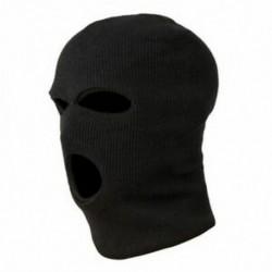 3 lyukú rendőrségi maszk / motorháztető szín fekete rendőrség - Swat - Gign - Raid - Specia I2J3