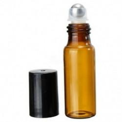 10 db 5 ml üvegfém acél gömbgörgő palackok parfüm illóolajQTY: 10 Y8R5