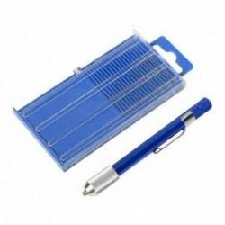 1X (17 darabos finom apró, számozott 61-80 mini ékszerész fúrókészletének csapszege Vise Chuc R6N4