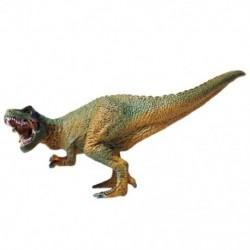 Szimulált statikus dinoszauruszmodell Rex Tyrannosaurus játék, szilárd vadon élő állatmodell B6W9