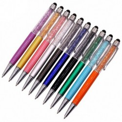 2X (10 db-os kristály toll gyémánt golyóstoll toll írószer toll újdonság ajándék az U5R9-ből