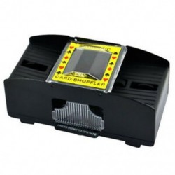 1-2 pakli műanyag automata Shuffler Fekete H6M3