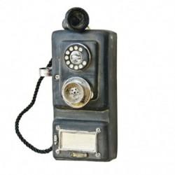 2X (falra szerelt szüreti telefon-nosztalgikus kézműves szüreti régimódi Wa O6A1.)