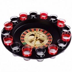 Újdonság, kreatív ital, lemezjátszó játékok, orosz rulettkerék 16 borospohár B V0M7