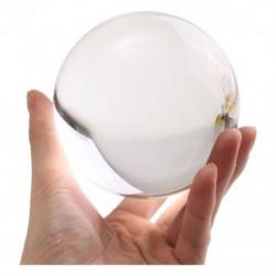 100 mm-es kerek üveg kristálygömb, mágikus tiszta gyógyító jóslásgömb szoba D T1E8