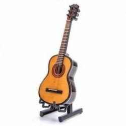 2X (Fa mini díszek, gitár hangszer, miniatűr babaház üzemmód B3I0