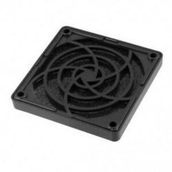 1X (fekete műanyag négyzet alakú, pormentes szűrő, 80 mm-es PC tok, ventilátor porvédő háló R4K8)