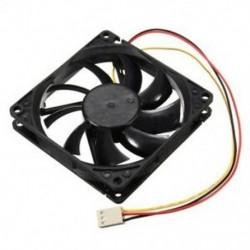 12 V-os 3 tűs CPU ventilátor hűtőborda hűtő hűtő hűtőventilátor a PC-hez 80x80x15 mm N8T7