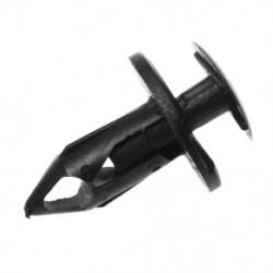 1X (20 db 8 mm-es lyukas műanyag nyomócsavar-szegecs szegecsek rögzítő panel rögzítő klipek T8A5)