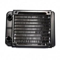 1X (G1 / 4 90 mm-es alumínium hűtő, PC CPU vízhűtéses hűtőborda, Blac U7Z1)