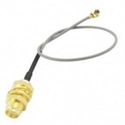 1X (SODIAL (R) U.FL IPX és SMA női pigtail-kábel 1,13 mm közötti, az R6R1 Wifi hálózathoz)