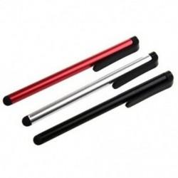 Kapacitív tollat érintőképernyőkhöz (3 egység), fekete / ezüst / piros Y4N2