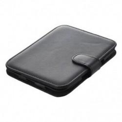 Bőr tok Barneshez és Noble Nook Simple Touch, GlowLight, fekete N7E1