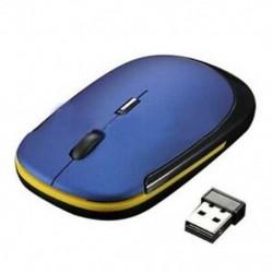 Rendkívül vékony Mini USB vezeték nélküli optikai kerék egér egerek minden laptophoz HP Del S4I6