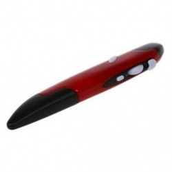 2,4 GHz-es toll számítógépes vezeték nélküli egér   USB vevő - piros G5N4