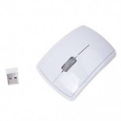 2x (2,4 GHz-es 1200DPI vezeték nélküli összecsukható íves optikai egér-egerek vevőegység Lapt M7W5