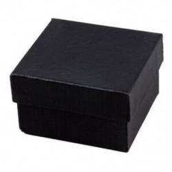 1X (ajándék dobozok tok a karkötő gyűrű fülbevalói karóra fekete S5O8)
