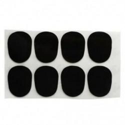 1X (8 javítóbetét-párna fúvóka Altoszaxofonhoz 0,8 mm fekete B7H3)