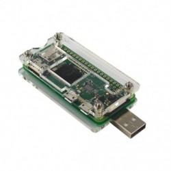 1X (Bad Usb Addon Board Usb-A csatlakozó átlátszó tokja a Málna Pi Ze R5I1-hez