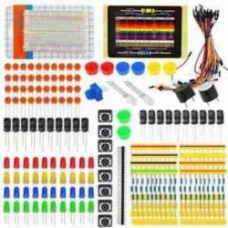 1X (elektronikus indítókészlet az Arduino Resistor Buzzer Breadboard LED Dupont M6V4 LED-hez