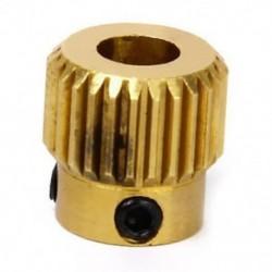MK 8 Extruder fogaskerék 26 Fogréz 11 x 11 mm Fa 1/4 r 3D nyomtató M7Y4