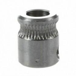 2X (MK8 extruder meghajtómű 5 mm-es furat 1,75 mm-es izzószál 3D nyomtató ezüst R3O9)