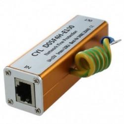2X (Ethernet LAN RJ-45 RJ45 Túlfeszültségvédő Új elektronikus Z1S1)