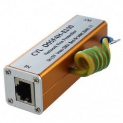 3X (Ethernet LAN RJ-45 RJ45 Túlfeszültségvédő Új elektronikus E6V7)