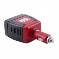 4X (12 V-os és 220 V-os 150 W-os átalakító USB-vel a cigarettagyújtóban az autós járműbenL3Y8)