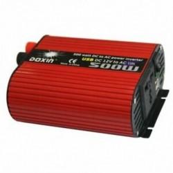 3X (DOXIN Power Inverter 500 W DC 12 V és 110 V váltóáram-átalakító, 4,2A kettős USB Y5Q3