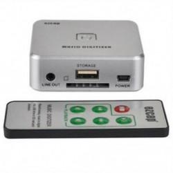 Ezcap 241 zenelejátszó digitalizáló Analóg zenét rögzíthet az USB meghajtó SD kártya L X2J7 formátumába