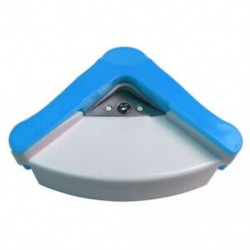 R5mm kör alakú sarokvágó papírvágó kártya fotódobozok C Q8X9 vágószerszám