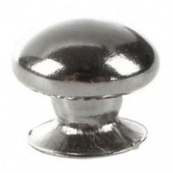 1X (100 PCS 7 mm-es kerek fém szegecsek az O3K4 kesztyűszíjhoz)