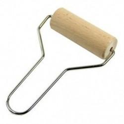105mm széles fa kézi henger - modellezéshez - gyurmához - agyaghoz - tészta kinyújtásához - fondant formázásához