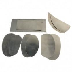 1X (10 db rozsdamentes acél kavicsos szobrászat kerámia kézműves kézműves szerszámok M7W8)