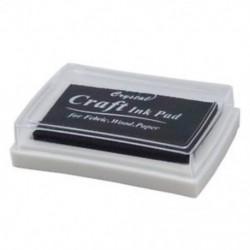 1X (fekete tintapatron tintasugaras gumibélyegző ujjlenyomat-készítő nem toxikus baba biztonságos C0Y1
