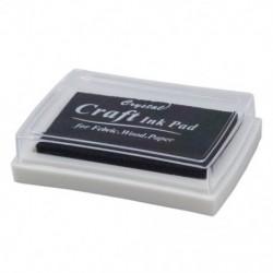 1X (fekete tintapatron tintasugaras gumibélyegző ujjlenyomat-készítő nem toxikus baba biztonságos Q1X5